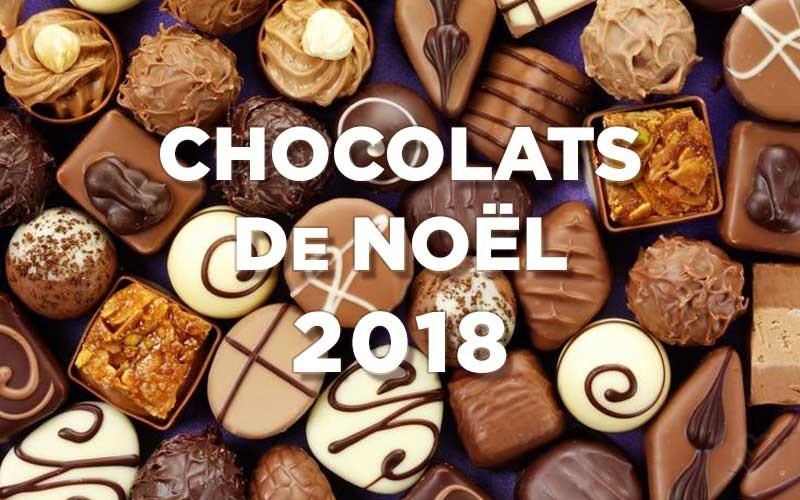 Chocolats de Noël 2018