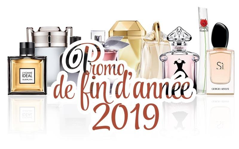 Promo parfums de fin d'année