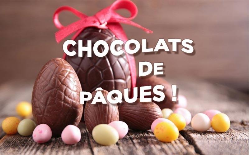 Chocolats de Pâques 2020