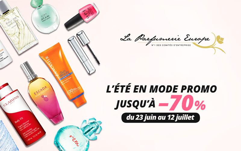 Promotions Parfums été 2020