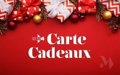 Carte cadeaux Noël 2020
