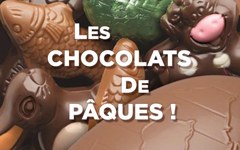 Chocolats de Pâques 2021