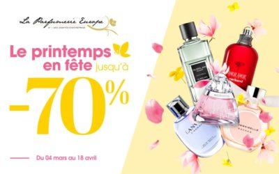 Promotions Parfums Printemps 2021